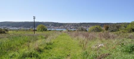Trogir, Divulje, agricultural land below the main road