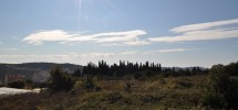 Trogir, building land of 5 967 m2 (approx. 51m x 116m).