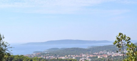 Trogir, south side of Island Čiovo, building land for sale