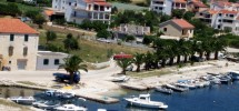 denizet, agence immobiliere trogir, terrain constructible premier ligne de mer (2)
