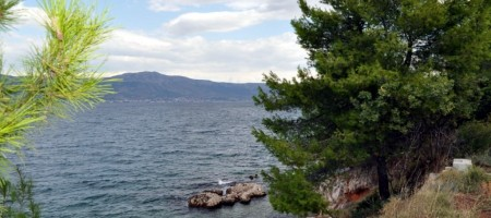 Trogir, Slatine, building land with beautiful sea views, investment