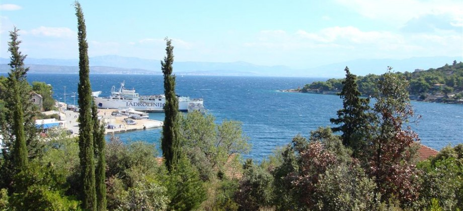 Reduced price! Building plot 2nd row from the sea