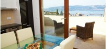 TROGIR, LUXURY TWO BEDROOM APARTMENT 150 M FROM THE BEACH.
