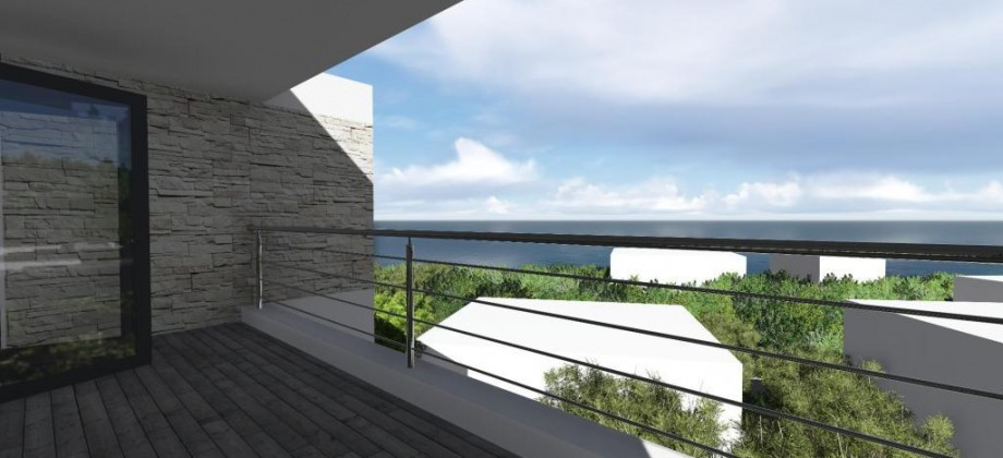Island Čiovo, for sale luxury two-bedrooms apartments with sea view