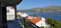 Trogir, Island Ciovo for sale is semi-detached apartment house located 3 row from the sea