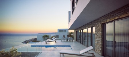 6 LUXURY VILLAS,  FOR SALE WITH BEAUTIFUL OPEN SEA VIEW!
