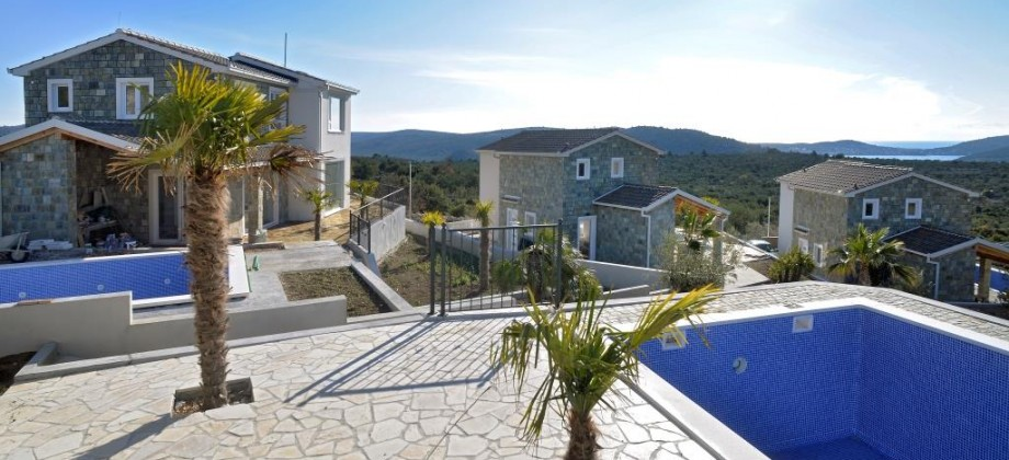 Rogoznica, new built villas for sale! Marvelous sea view!