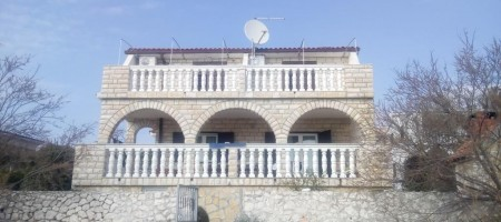 House for sale 1st line to the sea in Rogoznica