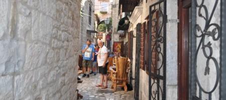 Stone house in center of Trogir