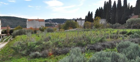 Trogir, building land plot at affordable price