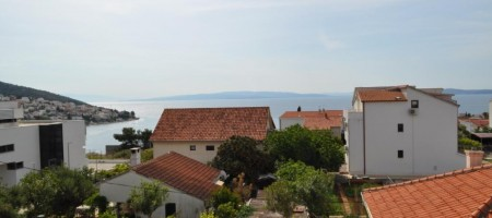 Island of Ciovo, for sale is a two-bedroom apartment with beautiful sea view!