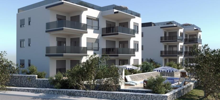 Čiovo, apartments with panoramic sea view
