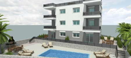 Apartment in new building with private garden