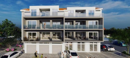 Okrug Gornji, two bedroom apartments under construction