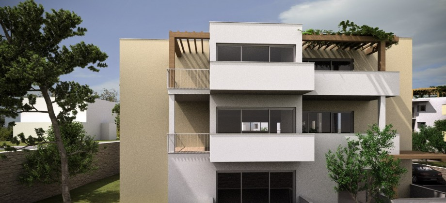 Vodice, newly build apartments