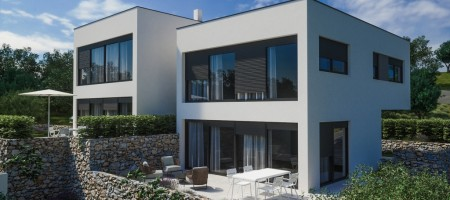 New modern family house near the sea