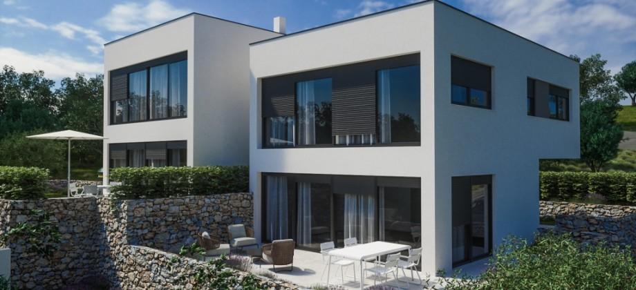 New modern family house near the sea