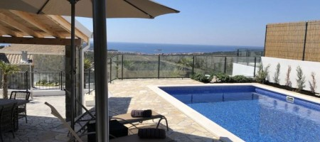 Exclusive offer! NEW villa with panoramic view