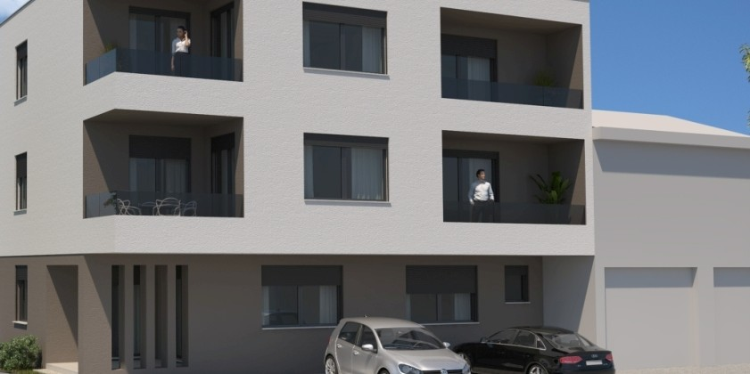 Island Ciovo, apartments under construction, 600 m from the sea!