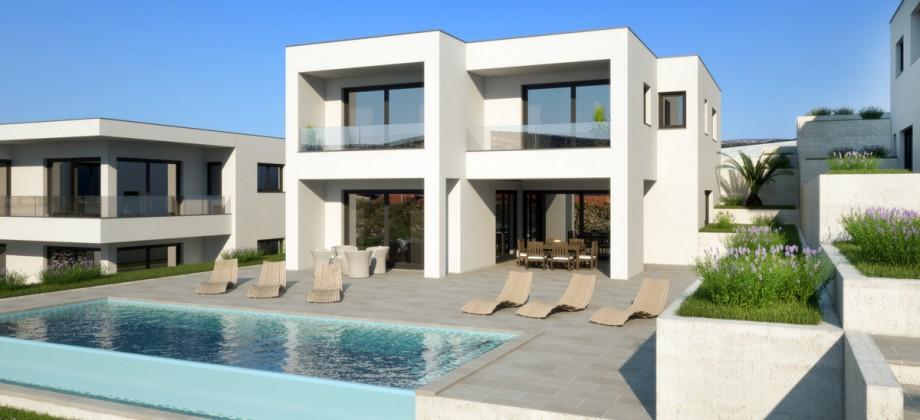 Rogoznica surroundings, new luxury villas with panoramic sea views!