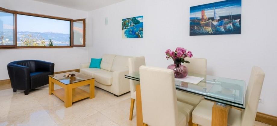 Čiovo island, Slatine, One bedroom apartments 120 meters from the sea