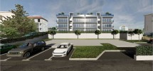 Okrug Gornji, apartments with roof terrace and with a sea view